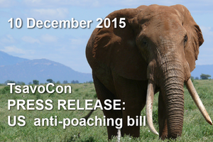 US anti-poaching bill 10 December 2015