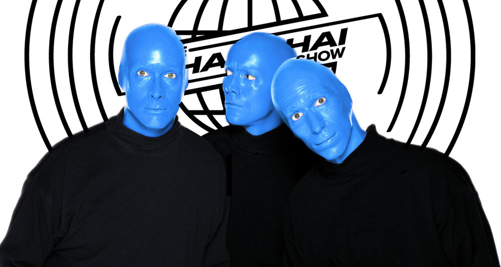 The Blue Man Group performed in Shanghai for 3 weeks. We sat down with J.T. and Randy (drummers for the Blue Man Group) before their performance last week at Inferno