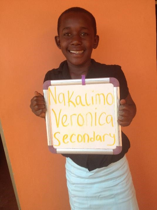 """I want to be a mechanical engineer. It is the only field I am interested in... I feel good to be part of this team, I am happy that my parents won't have any more trouble paying fees. Thank you for sponsoring me."" -Veronica"