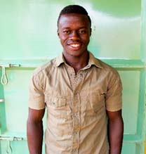 """At first I didn't have any school fees to go to school.  But since you came into my life and started paying for me, now I can enjoy school very, very much.  I really thank you!"" -Basoma Bright"