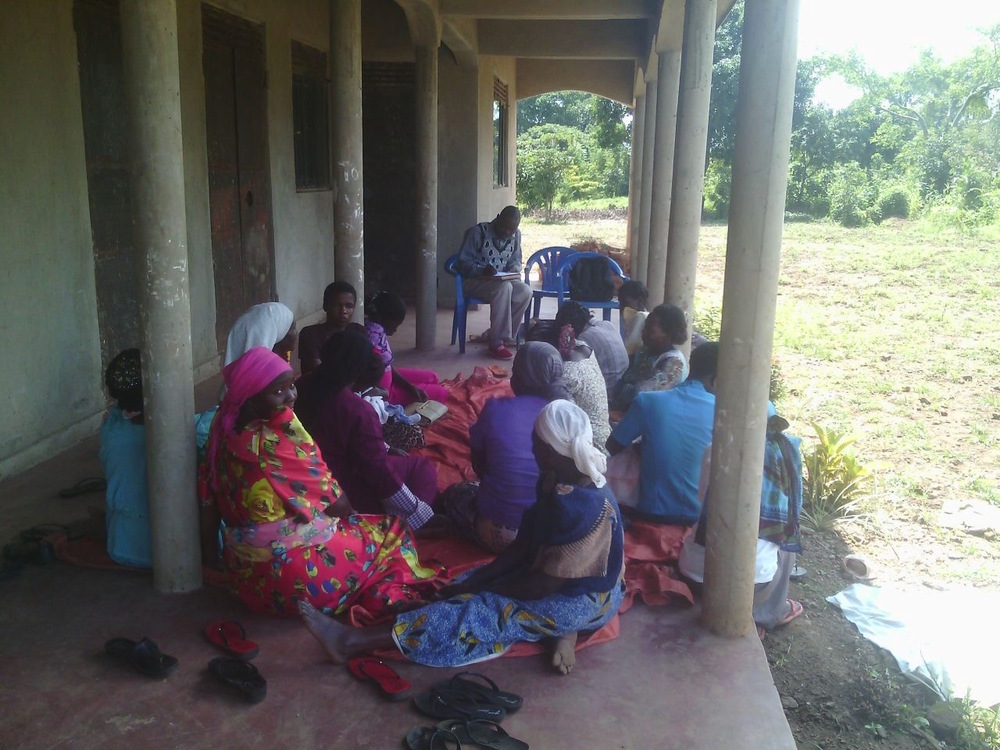 Agricultural class with an Iganga chicken cooperative