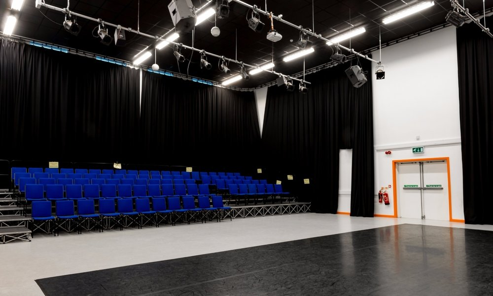 Classes this term will be held at the centre's theatre space.