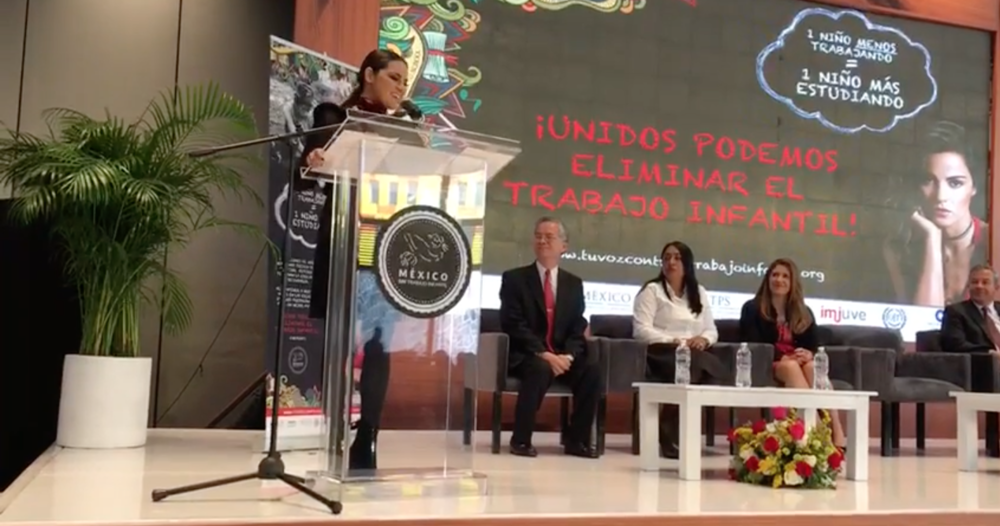 PADF, GOVERNMENT OF MEXICO AND PARTNERS LAUNCH ANTI-CHILD LABOR CAMPAIGN