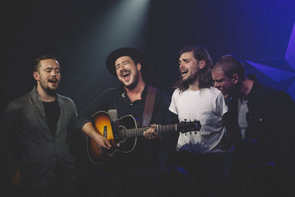 Mumford & Sons taping Other Voices at Arlyn Studios - Richard Gilligan/Other Voices