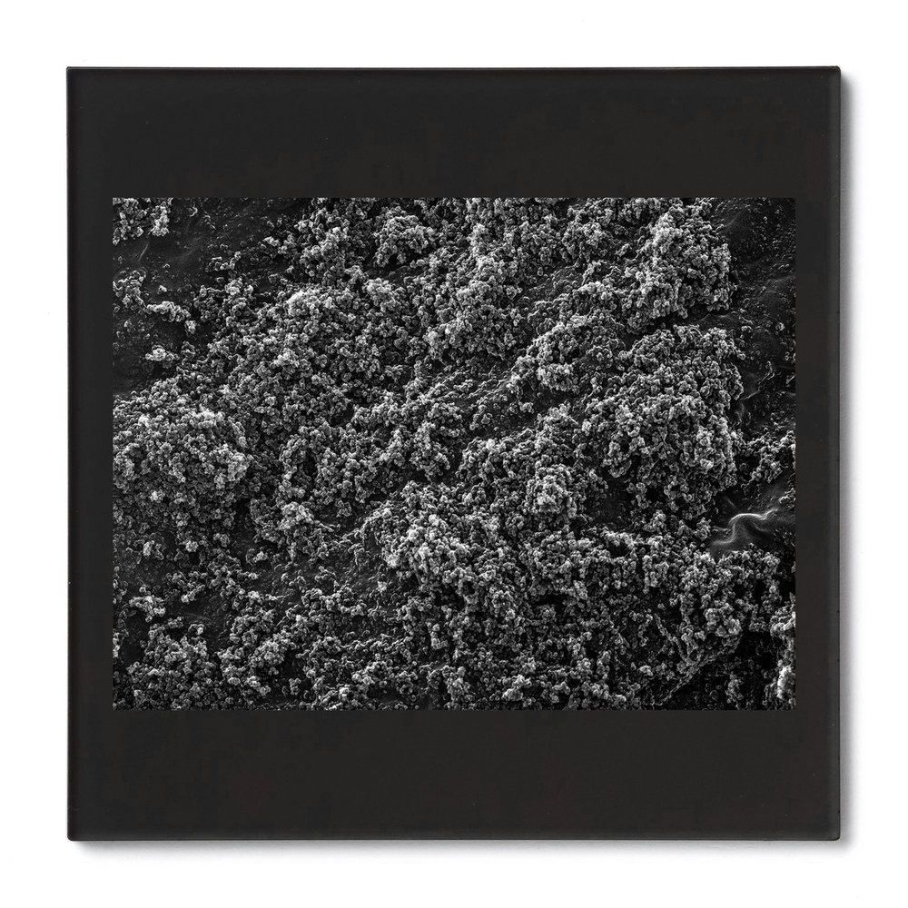 Black Oxide #1. Gelatin silver print mounted on acrylic. 2014