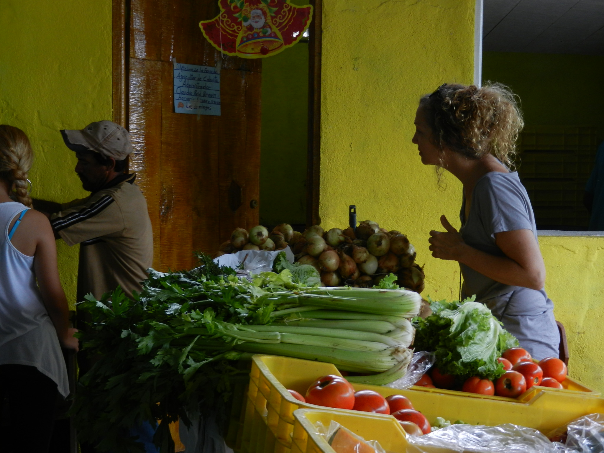 Cahuita Sunday market
