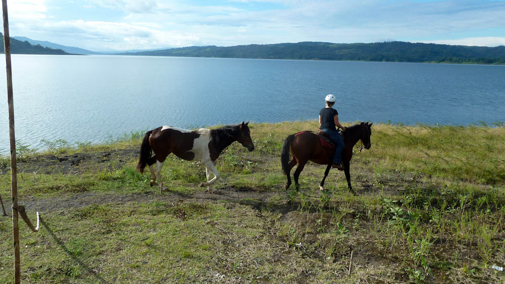 Horse Trek around Lake Arenal