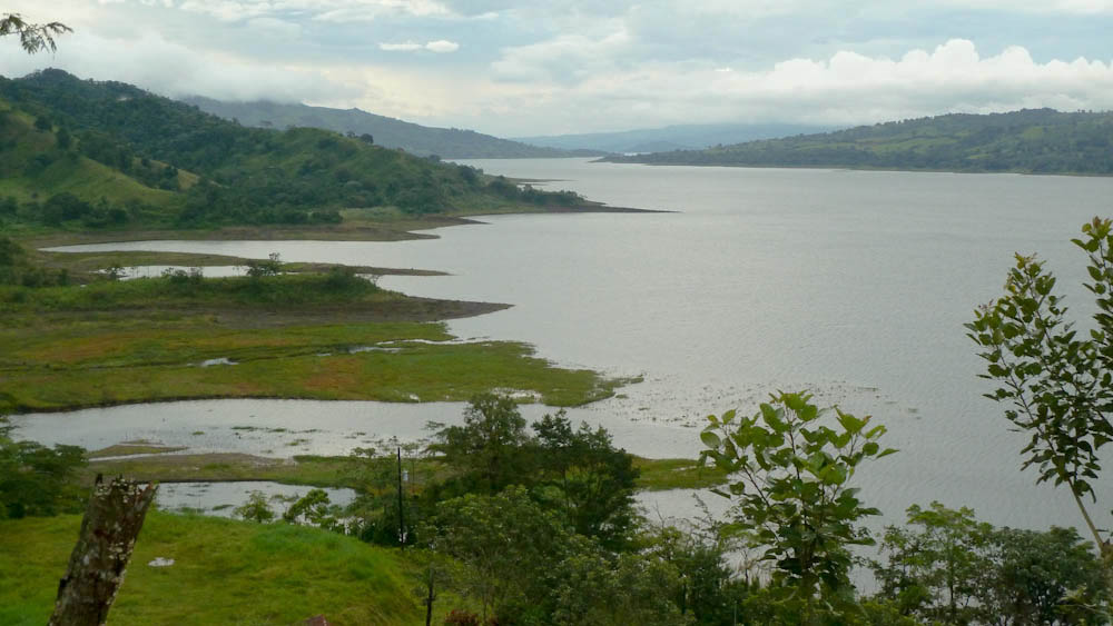 Lake Arenal views
