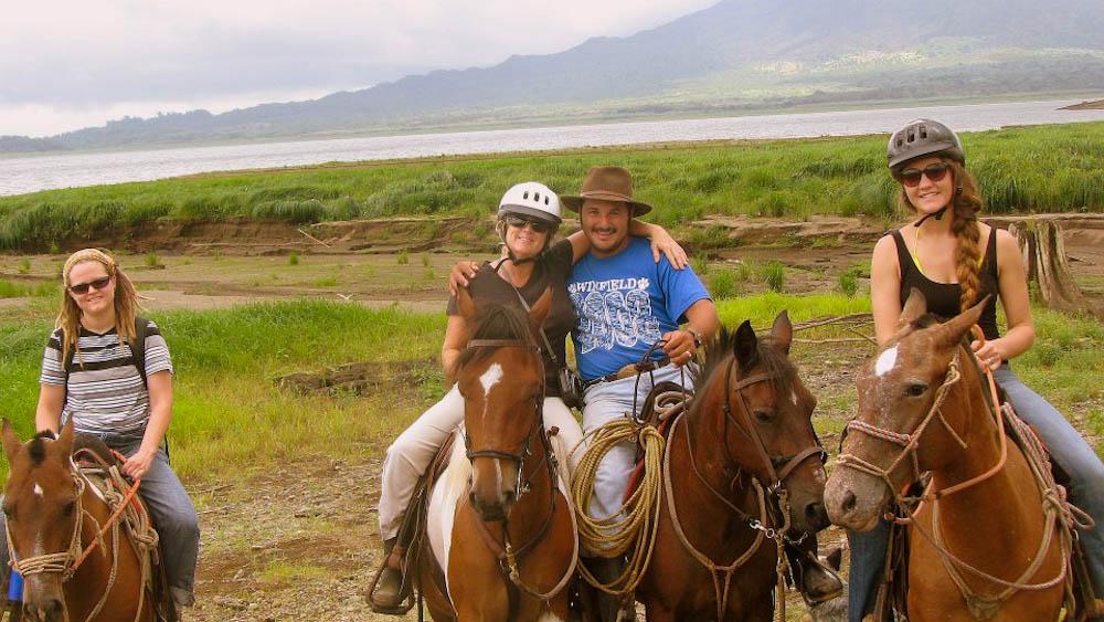 horse treks in Arenal, Costa Rica