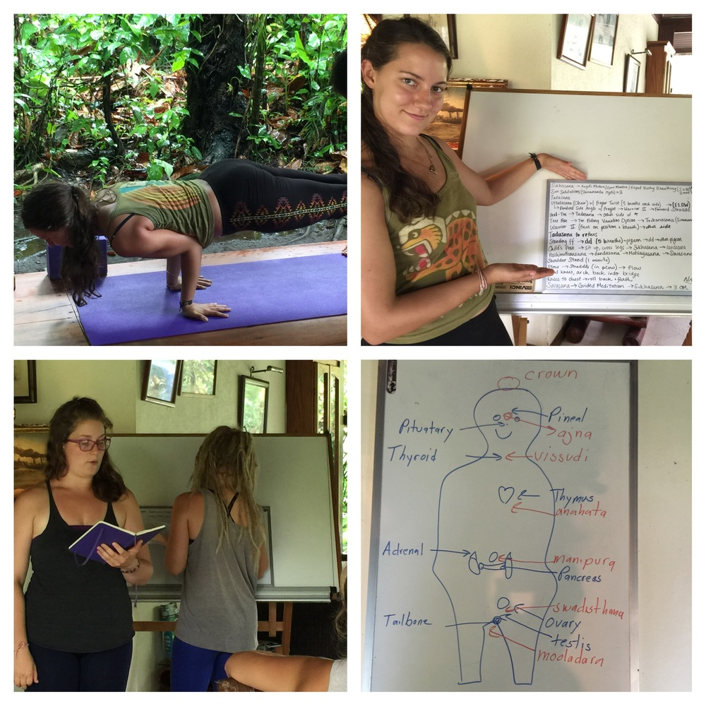 Balance, Lectures & Corinne's Art!