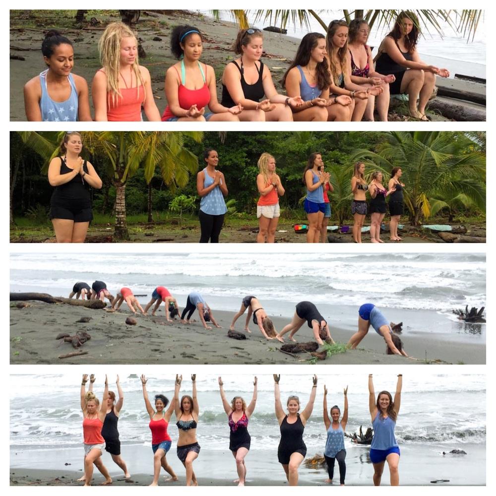 Sunrise Yoga Beach Class