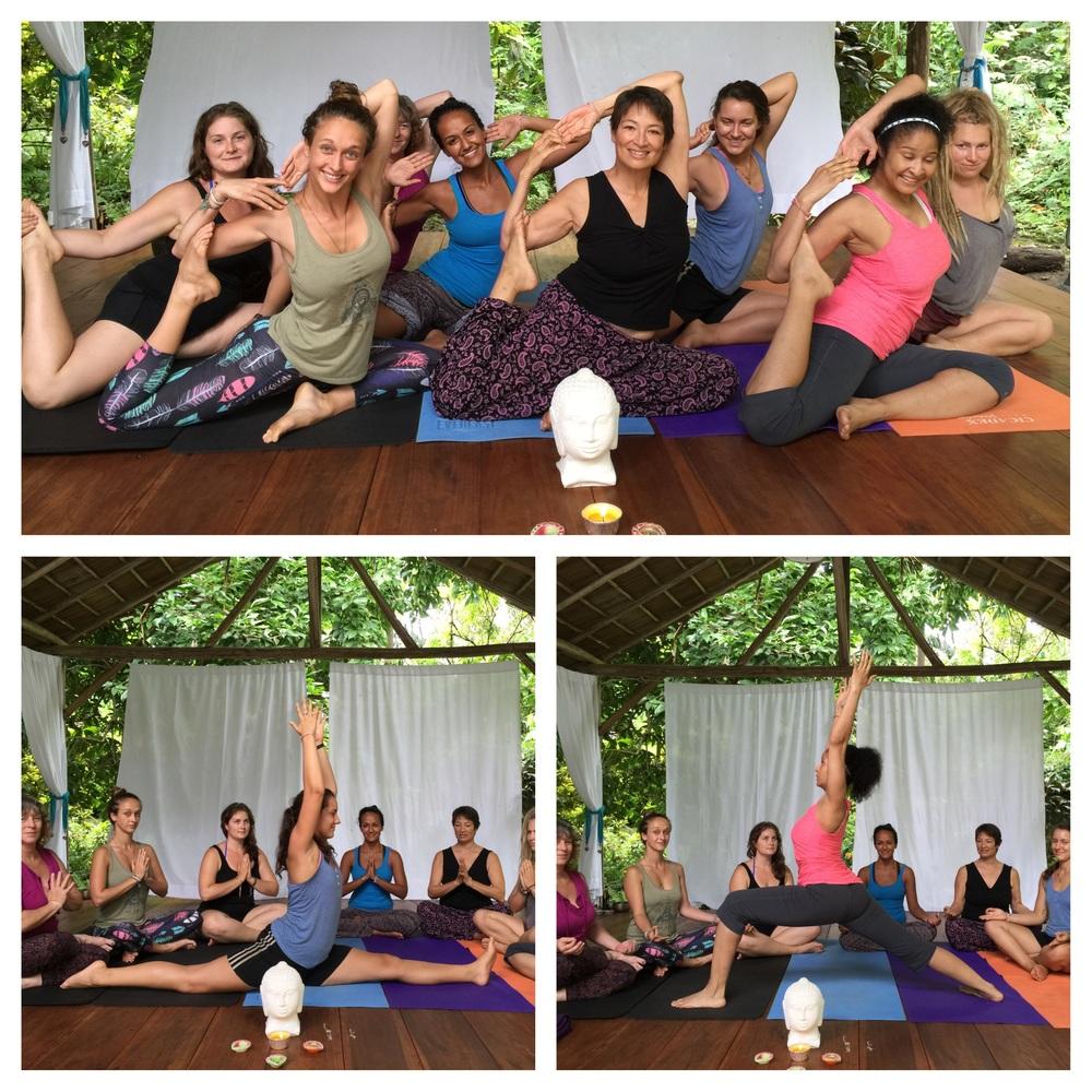 Asana Circle in the Yoga Sanctuary
