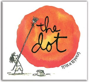 """The amazing book by Peter H. Reynolds that started it all."""