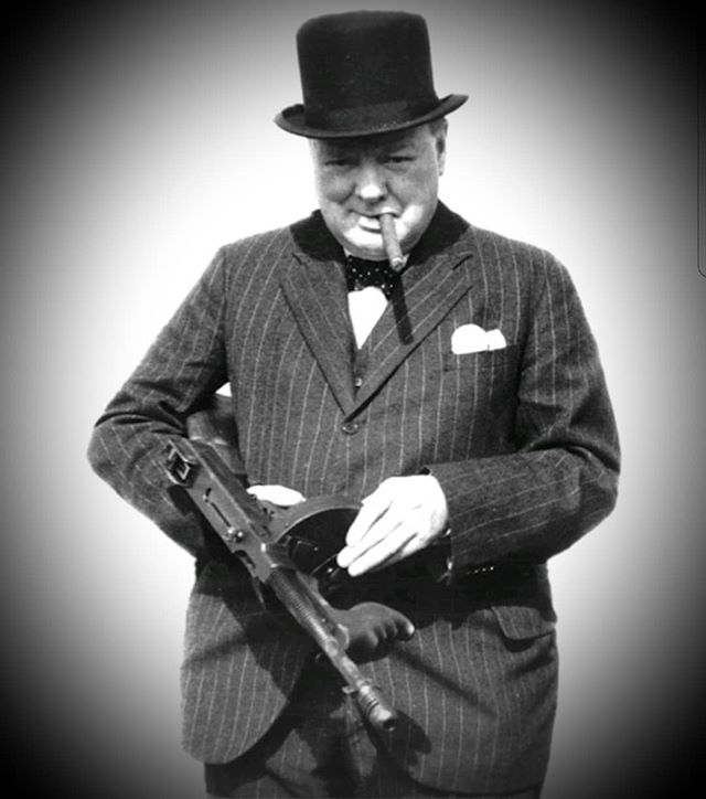"""It is better to jaw- jaw than to war-war."" Winston Churchill"