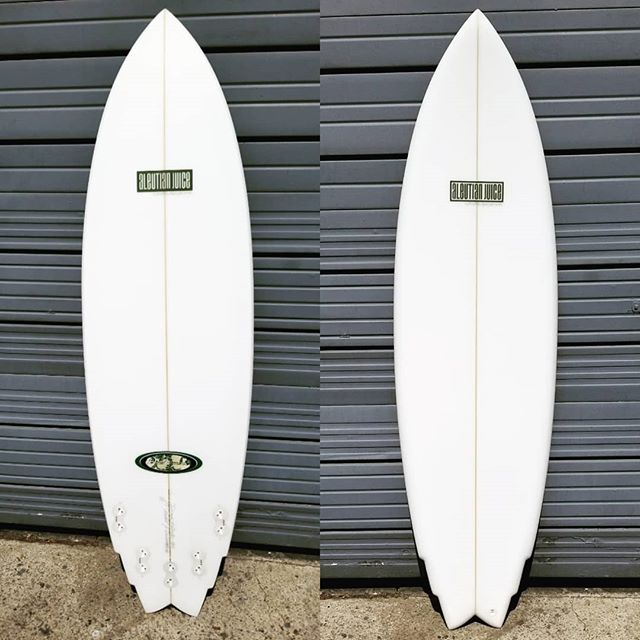 "6'1"" Malolo for Wes'side alumni Lincoln Naeole. Two decades ago this shape was an offshoot of the Stubb-Vector, originally designed for Makaha's Rusty Keaulana. 13.6"" Nose X 19.625"" WP X 15.15"" Tail X 2.35"" Thickness. Scooped tail footwells and inverted vee panels, with chine rails. @usblanks  68A New Red pour and natural rocker. Glassed in sunny San Luis Obispo by @izzyduzit_"