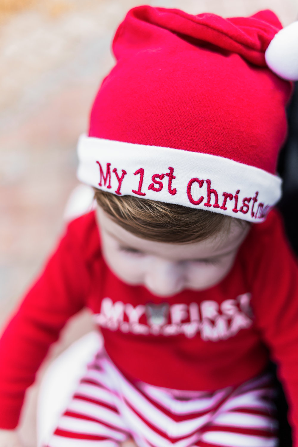 Baby's first Christmas Photography Session in Boca Raton