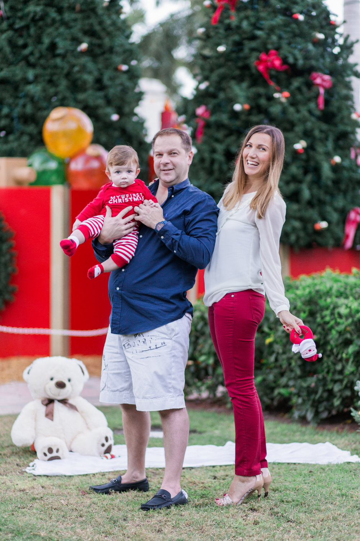 Christmas Family Photography Shoot in Mizner Park Boca Raton