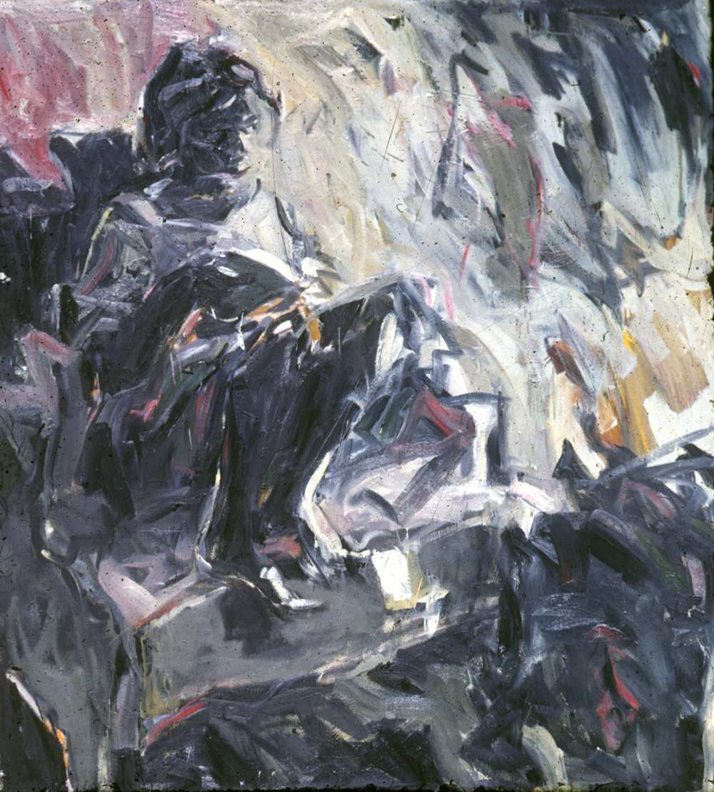 Abstract Figure Study, Private Collection