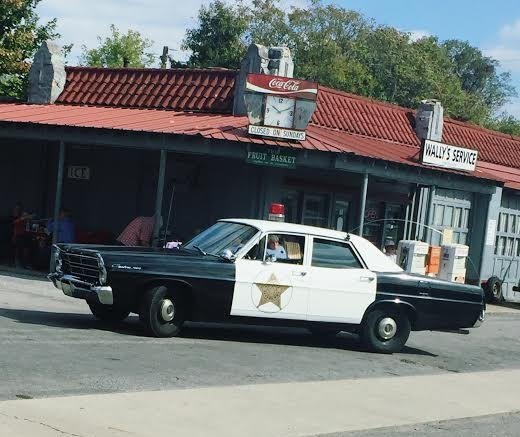 Andy Griffith Squad Car