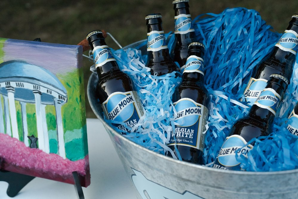 Blue Moon is my go-to tailgate beer!