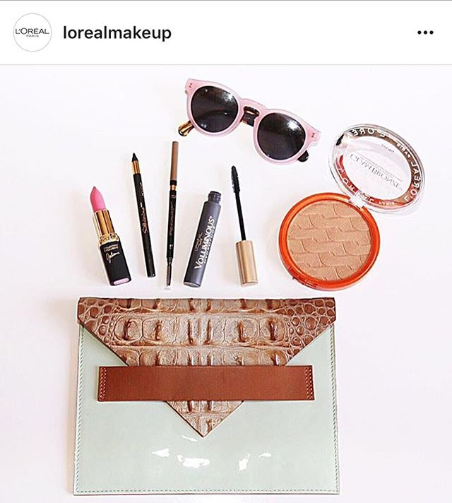 What's in your LOU ROU? Thanks for showing us @lorealmakeup !
