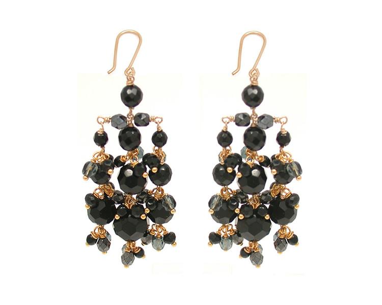 Swarovski chandelier earrings jewellery collections wedding swarovski chandelier earrings aloadofball Image collections