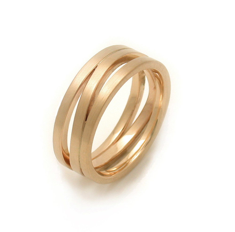Men's Triple Wave Ring