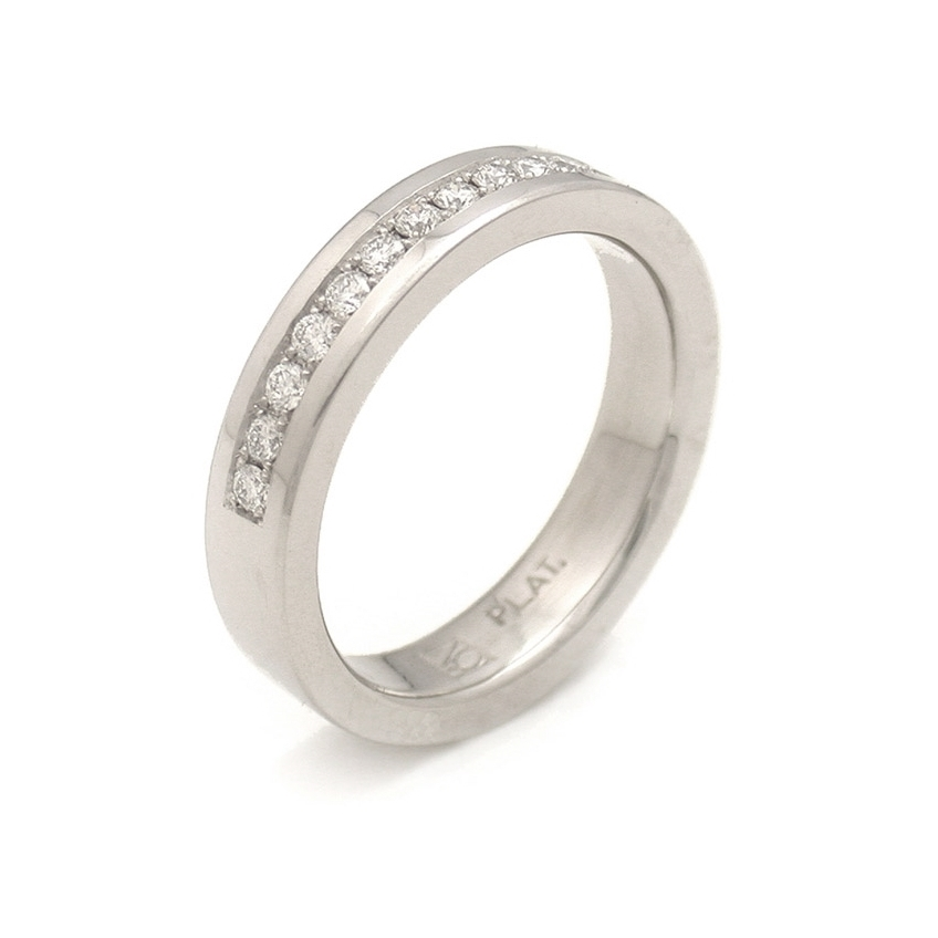 Half Pave Eternity Band