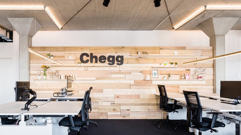 Chegg   BRAND SPACE OFFICE
