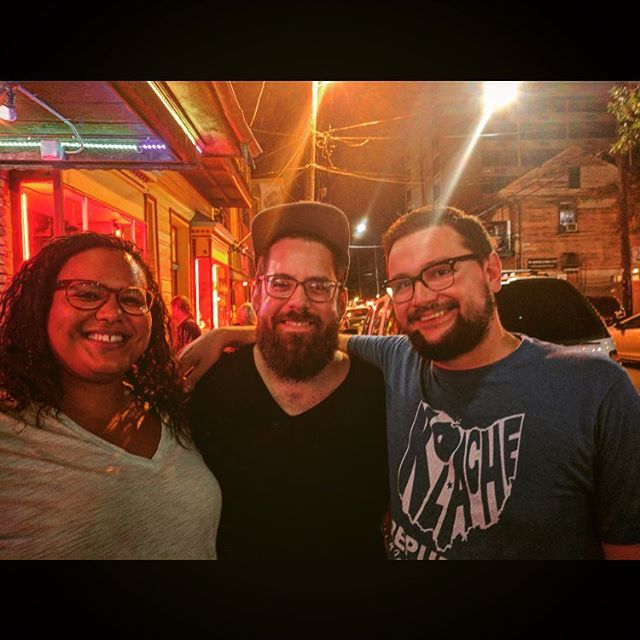|Ohio Fam in New Orleans| (last night) Peeps... @ladybird193 & @cottonreis Congrats that your getting married real soon!👌. And a shoutout for all the birthday love via text, FB or phone.  Feelin real special like. Dirty thirty ain't even know what about to go down.  Get at me.  Also, Super extra special thanks to OG #chriswilliams for the killin 📸 skills on these drunken streets of New Orleans.  Keep it real y'all... #dirtythirty #realtalk #realworld #whenpeoplestopbeingpolite #and  #startbeingreal #neworleans #edition  #ohiofam #downsouth #cheesin  #shorthairdontcare