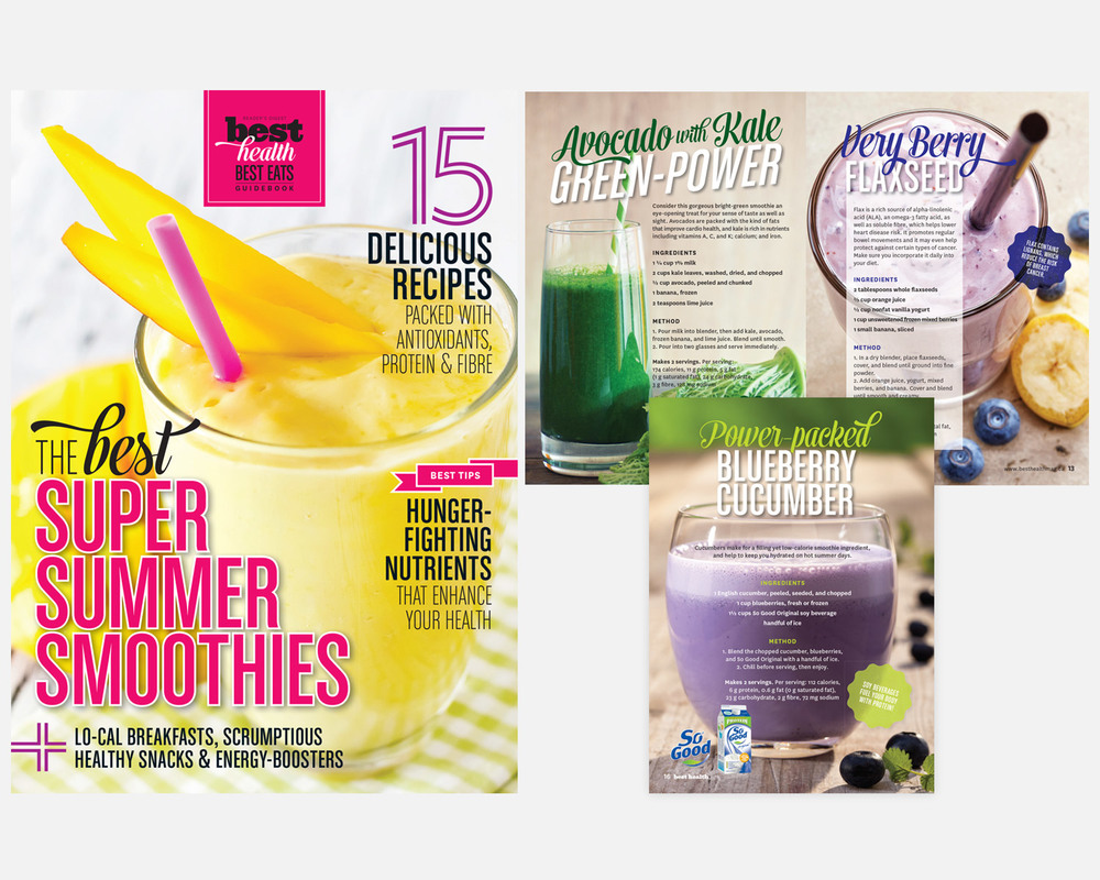So Good Beverage   |   Smoothies Booklet & Online Flipbook