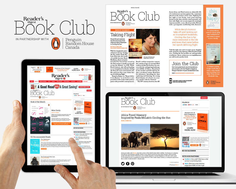 Penguin Random House Integrated Program: Print   •   Online Microsite