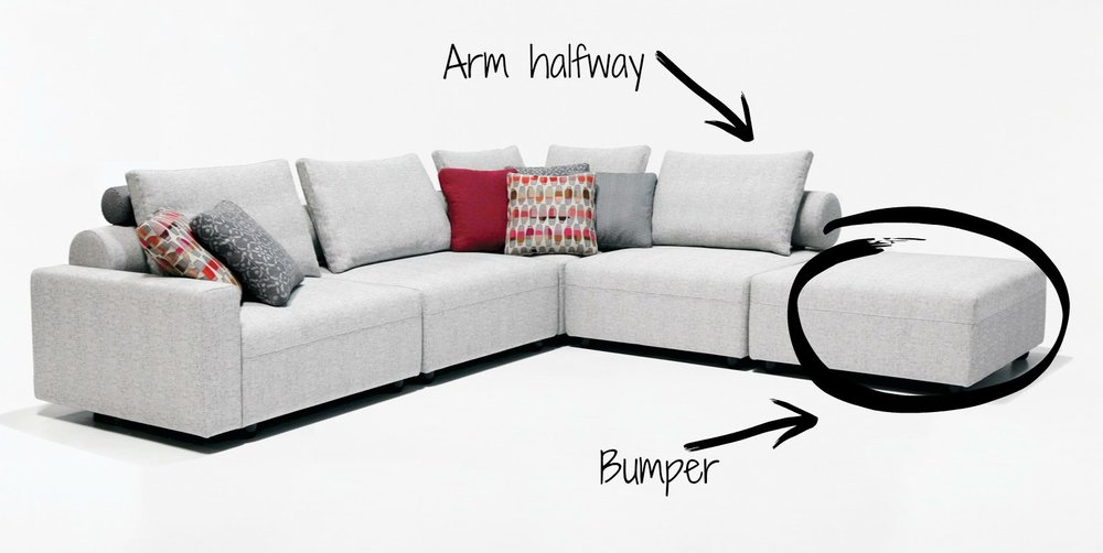 """*sectional with return Now that that's cleared up, let's find out which one is right for you: Firstly,size matters. How large is your space? Can it handle a large sectional? And even if it can physically hold that size, how much space does it take up visually? You want to be certain that you have plenty of space for you and your guests to move around comfortably. Next,how long do you plan to stay in your current home?A large sectional may be perfection in the room you are shopping for, right now. However, if you plan to move anytime soon, the chances of that piece fitting just right in your new space are slim to none. A sofa is always the safe bet when you don't know if a move is in your near future or not. Finally,commitment: So you have the space physically as well as visually, and you love where you live; you don't see yourself moving anytime soon, but are you ready to commit? Unless your home is the size of a gym (I'm exaggerating, well… sort of), then choosing a sectional means choosing one configuration for as long as you own the piece. If you're ready to commit, then go for it! But if you need the ability to switch things up from time to time, a sofa is the way to go. """"But Lauren, I need versatility and a lot of seating!"""" you say. Oh my friend, """"just buy two sofas!"""" I say…or buy a sofa and a loveseat…. …or a sofa and chairs… or a sofa and… well, practically anything you can rest your bum on. Yes, it takes a bit more curating to go the route of selecting multiple pieces instead of signing up for just one big piece; but if that's what you find yourself needing or wanting versatility, it's worth the extra effort. If you find yourself needing a little help curating, please do not hesitate to reach out!"""