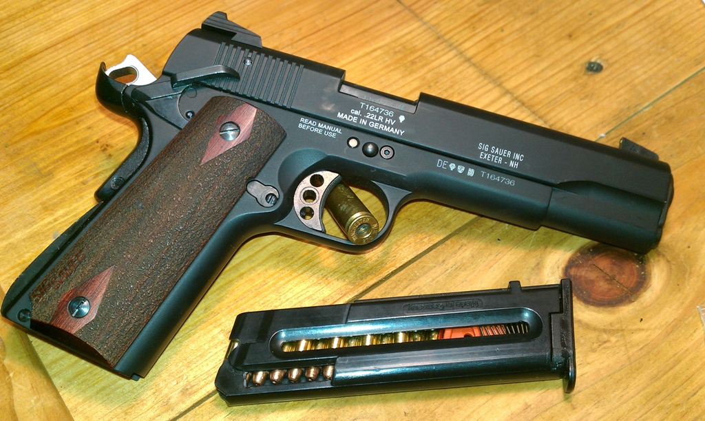 sig sauer 1911 22 review firearms insider community rh firearmsinsider tv sig sauer 1911 owners manual sig sauer 1911 22 review