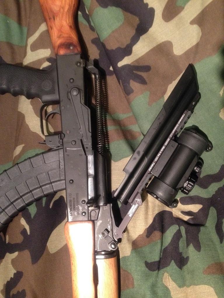 Parabellum Armament AK-Adaptive Rail System - AKARS 1