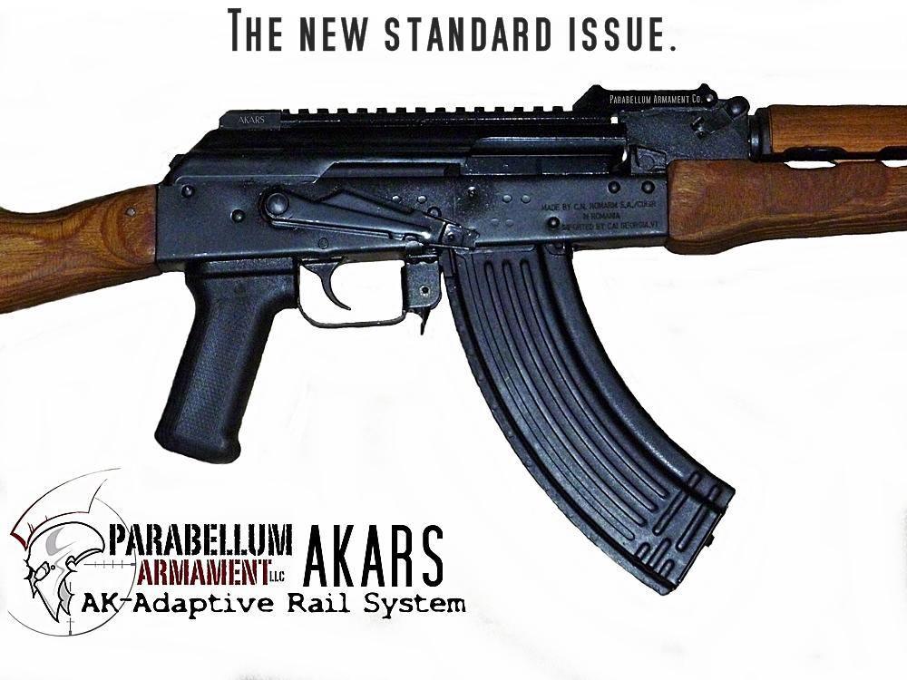 Parabellum Armament AK-Adaptive Rail System - AKARS 2