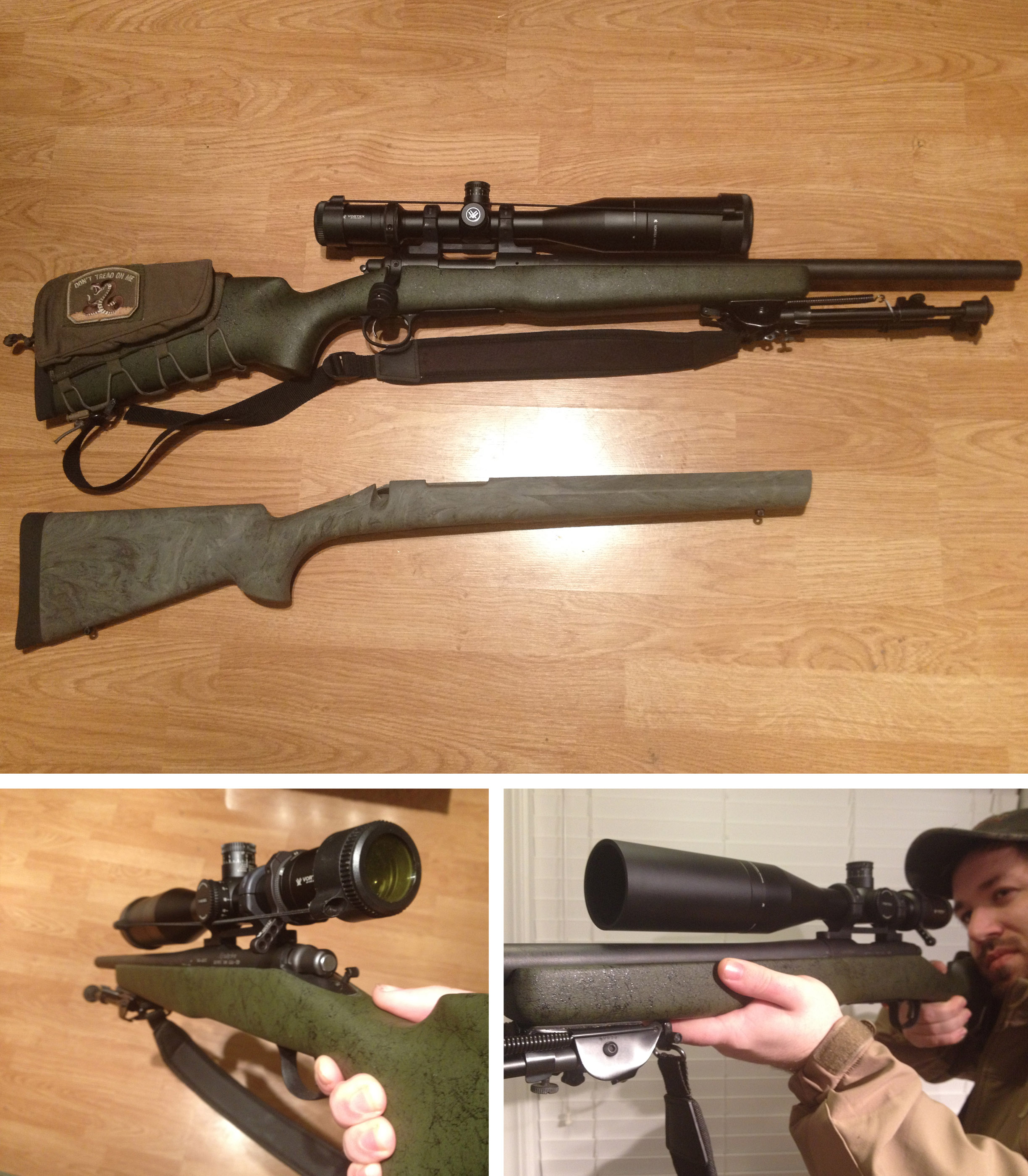 Remington 700 AAC-SD + Bell & Carlson Medalist M40 Stock