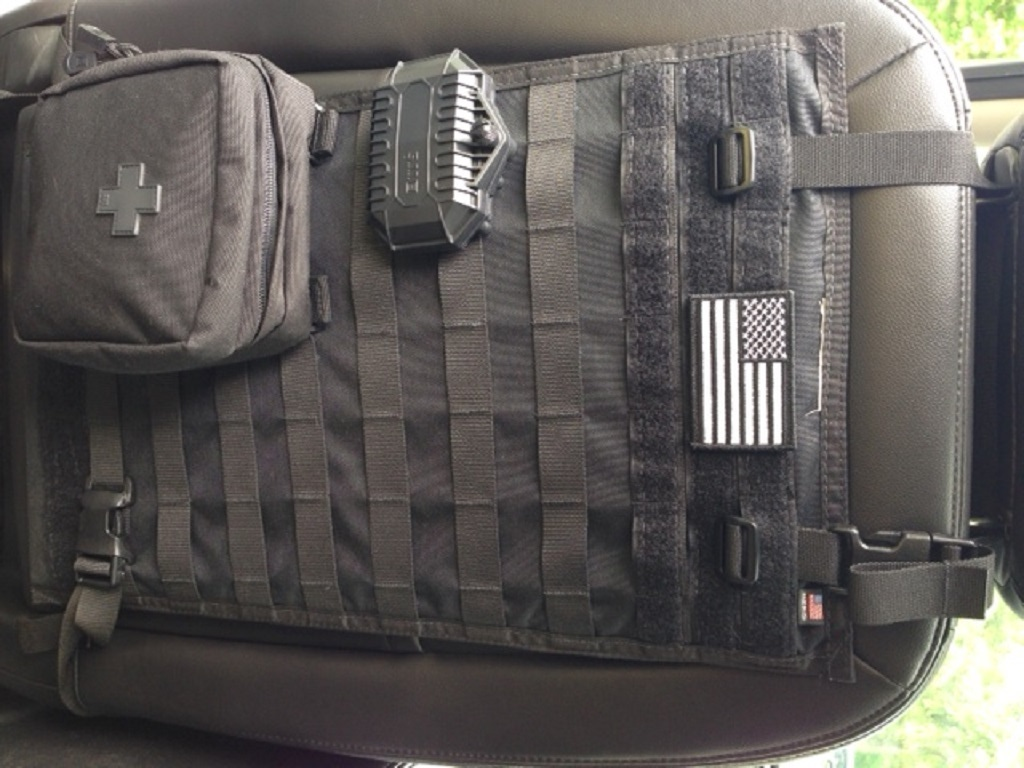Blue Ridge Overland Gear Molle Seat Back Panel Review