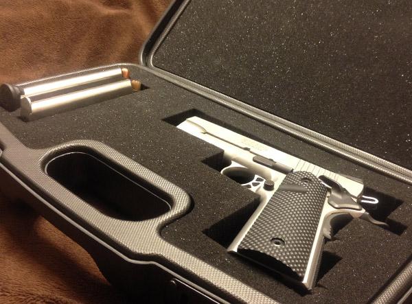 Negrini Compact Handgun Case