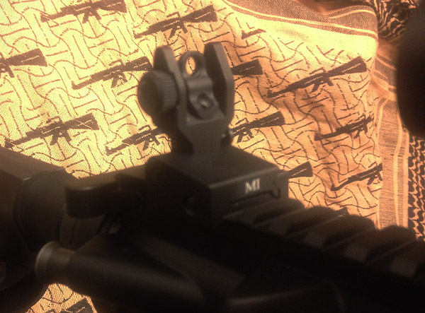 Midwest Industries SPLP Flip Up Sights