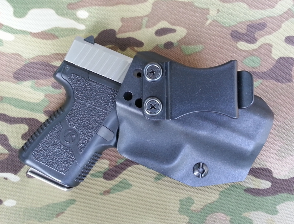 Learned Ruger Lcp Black Carbon Fiber Kydex Inside Waistband Iwb Holster Usa Veteran Made Evident Effect Holsters, Belts & Pouches