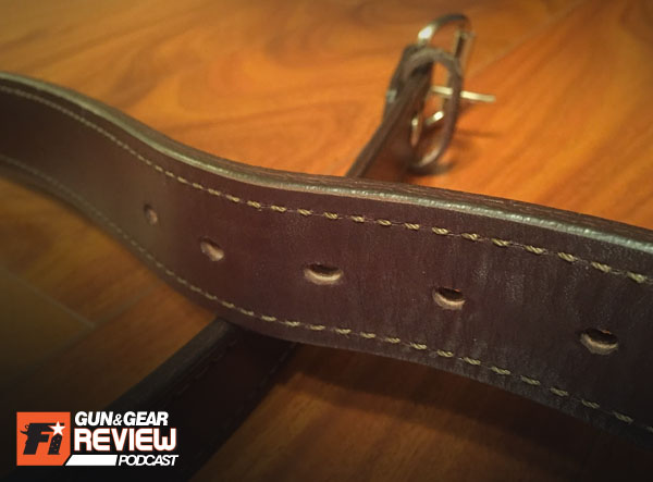 bigfoot gun belts untamed leather belt firearms insider