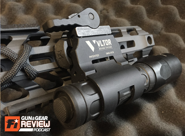 This   VLTOR flashlight QD mount goes by SM-O: Scout Mount Offset