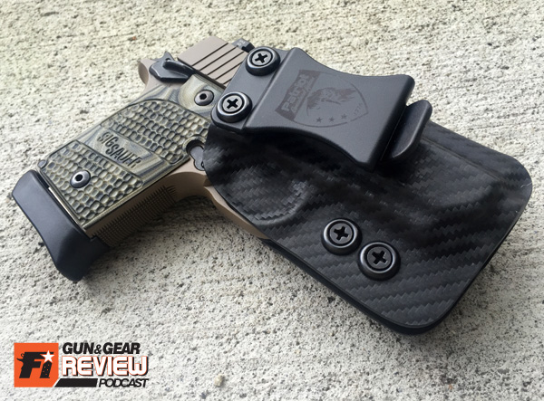 Inside the Waistband holsters should be comfortable, secure, and simple