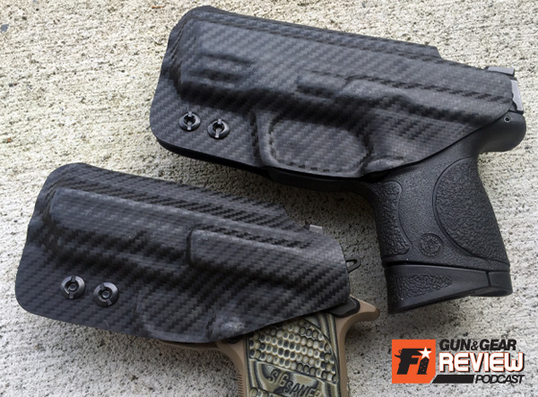The kydex covers the mag release to prevent any unintended mag drops