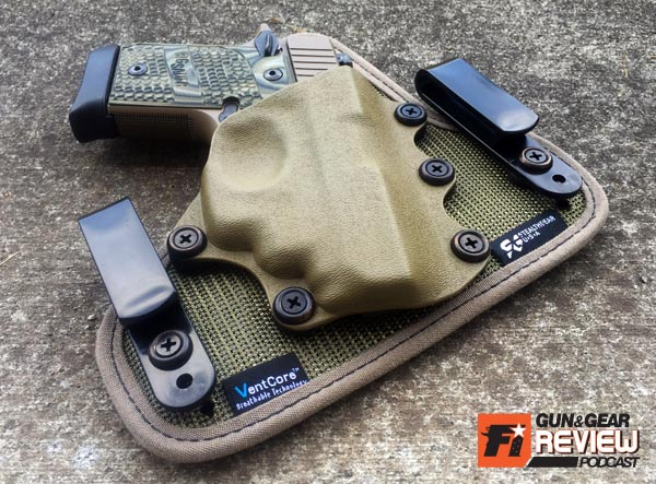 The holster industry is uber saturated with hybrid holsters. New materials are needed to make a new hybrid-hybrid platform.