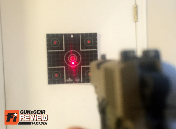 Having a laser can add unique feedback when dryfiring indoors, as it telegraphs every millimeter of movement in the muzzle.