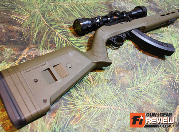 The X-22 is a rock solid upgrade from the factory plastic stock that feels like a BB gun.