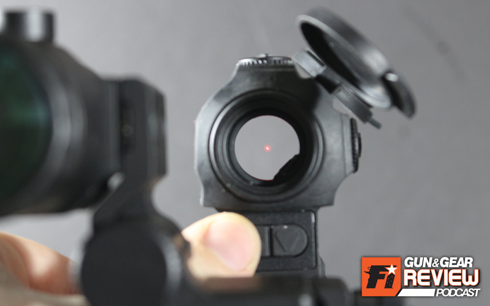 The 2MOA dot is crisp and perfect for precise, slow shooting or fast rapid shooting.
