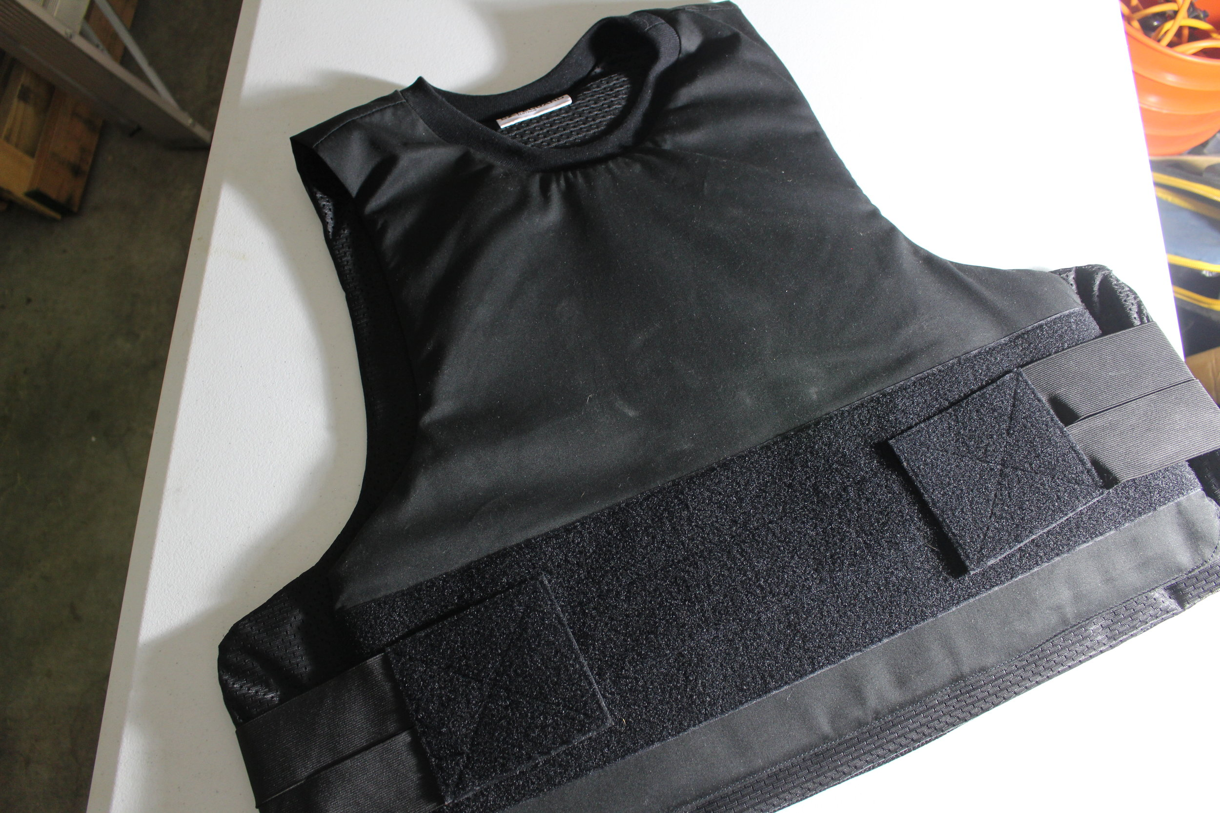 Ultra Thin Concealed  T shirt Body Armor Vest Bulletproof made with Kevlar IIIA
